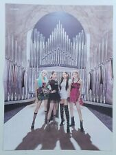 Blackpink - Kill This Love (2nd Mini) 2-Sided Unfolded Official Poster Hard Case