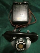 Restored Western Electric 202 Desk Phone With Rare Outside Bell Sub Set