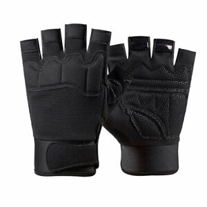 Military Tactical Breathable Half Finger Gloves Combat Army Fingerless Gloves