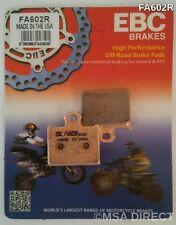 "KTM SX 85 (2012 to 2015) EBC ""R"" Sintered REAR Brake Pads (FA602R) (1 Set)"