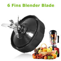 6 Fin Extractor Replace Blade For Nutri Ninja Blender BL450 Auto-iQ BL480 BL481