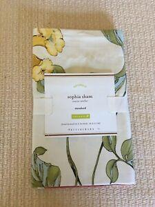 1 Pottery Barn Sophia Floral Standard Sham Gorgeous!! Last One! Rare Find