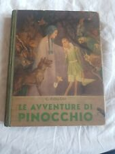 LIBRO COMPLETO 1944 PINOCCHIO con disegni e tavole di galizzi