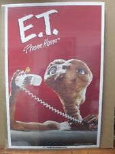 Vintage Poster E.T. The Extra-Terrestrial Movie 1982 Alien Inv#G467