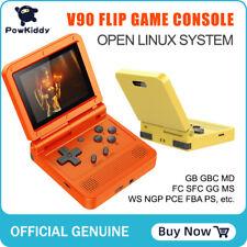 POWKIDDY V90 3-inch IPS Screen Retro Handheld Console 16 Simulators 3000 Games
