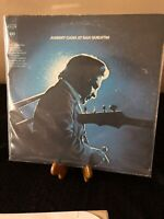 """VINTAGE JOHNNY CASH AT SAN QUENTIN COUNTRY ROCK 1969 12"""" LP VINYL RECORD"""