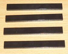 2x2 8 Pièces Lego Pierre Axes Noir 6092658 10313 NEUF