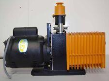 Alcatel Vacuum Pump 2012A w/ Oil Mist Eliminator ++