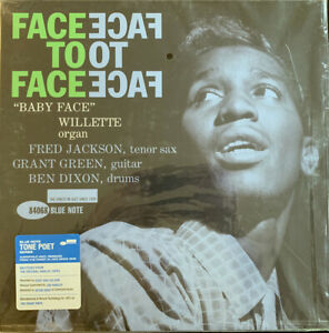 """""""BABY FACE"""" WILLETTE - FACE TO FACE BLUE NOTE TONE POET SERIES SEALED VINYL LP"""
