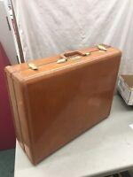 Vintage Samsonite Streamliner Luggage Suitcase Brown Large Size Shwayder Bros