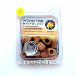 Enterprise Tackle Floating Dog Biscuits - Carp Coarse Surface Imitation Baits