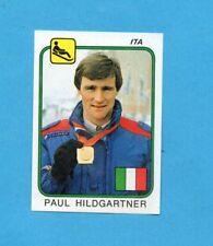 SUPERSPORT 1986-PANINI 86-Figurina n.211-HILDGARTNER-ITALIA -SLITTINO-Recuperata
