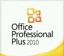 ORIGINAL OFFICE PROFESSIONAL PLUS 2010 32 /64BIT LICENSE KEY SCRAP PC