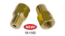 """EMPI Male 1/8"""" NPT to Female 10mm x 1.0 Bubble Flare Pair VW Baja Bug Buggy"""