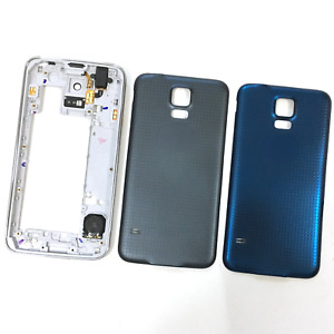 For Samsung Galaxy S5 G900 G901 Housing Middle Frame Bezel+Battery Back Cover
