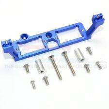 GPM Alum Front & Rear Gear Box 2-Speed Diff Lock Servo Mount Blue : TRX-4 /TRX-6