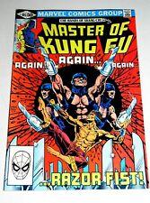 MASTER OF KUNG FU #105  BATTLES RAZOR-FIST   BRONZE AGE MARVEL