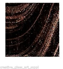 25 ct - 3/4 inch Black Copper Veined Glass Mosaic Tiles