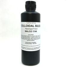 Colloidal Silica 1 Pint NALCO 1144 Ceramic Fiber Rigidizer Refractory Kiln