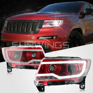 Jeep Grand Cherokee/Compass HID Headlight 2011-2015 with LED Bi-xenon Projector