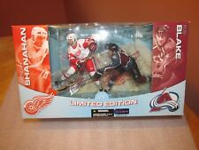 McFarlane Brendan Shanahan (Red Wings) vs. Rob Blake (Avalanche) Deluxe 2-Pack