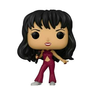 FUNKO POP! ROCKS SELENA BURGUNDY GLITTER OUTFIT POP FIGURE (PREORDER)