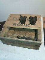 "Box Timken 2 1/4"" drill bits vintage gold mining rock ore drilling"