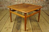 Vintage Teak Couchtisch Grete Jalk Sofa Tisch Danish Coffee Table Glostrup 60er