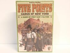 Mayfair Games Five Points Gangs of New York New Factory Sealed 2013
