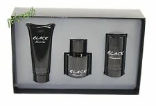 Kenneth Cole Black 3 Piece Gift Set For Men 3.4 oz. EDT Spray By Kenneth Cole