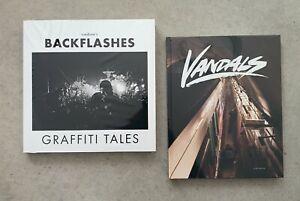 2x Buch: VANDALS + BACKFLASHES | Graffiti, Foto | Publikat