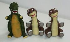1988 The Land Before Time Rex and Little foot Pizza Hut hand puppets