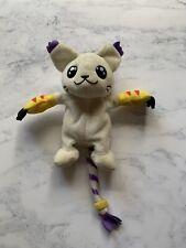 "Vintage Digimon Gatomon Plush Digi-Pals 6"" Plush Soft Toy 1999 Rare"