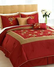 Hallmart Collectibles Selina Queen 7 Piece Comforter Set