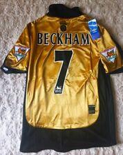 Manchester United 2001-2002 AUTHENTIC Beckham Shirt