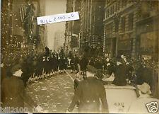 "photo ancienne.Etats-Unis.New-York.Capitaine Carlsen héros du bateau "" Flying E."