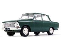 Moskvich-408 Soviet Sedan 1:24 Scale USSR 1964 Year Rare Collectible Model Car
