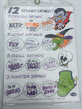 12 Spooky Sayings Halloween Decor Sign Making Witches Skulls Dracula Monsters