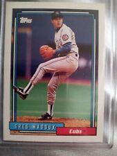 1992 Topps Greg maddux 580
