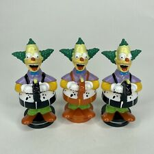 The Simpsons 3D Chess Krusty the Clown Knight Replacement Figures Set of 3