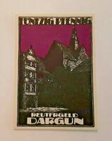 DARGUN REUTERGELD NOTGELD 50 PFENNIG 1921 NOTGELDSCHEIN (11896)