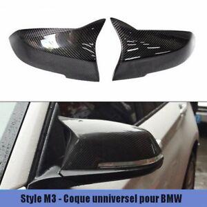 Coque rétroviseur Carbone BMW série 1-2-3-4-X1 M3 design carbon mirror