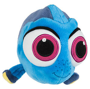 """""""Finding Dory"""" Disney Parks Store BABY DORY Nemo Stuffed Toy Plush - NEW w/Tags"""