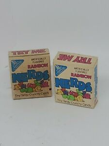 Vintage Rainbow Nerds Willa Wonka 1984 Candy Sample Size