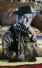 """Wanted Dead or Alive, Steve McQueen Western Tabletop Display Standee 10.5"""" Tall"""