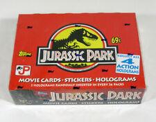 1992 Topps Jurassic Park Series 1 Trading Card Box (36 Packs) Sealed