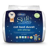 Silentnight Safe Nights Anti-Allergy Cot Bed Nursery Duvet - 4 Tog