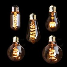 LED Dimmable Retro Edison Bulb E27 E26 220V 3W Gold Spiral Filament Lamp Vintage