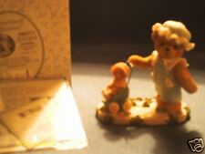 Cherished Teddies Lucinda We'll always be just you& me. girl with stroller 2001