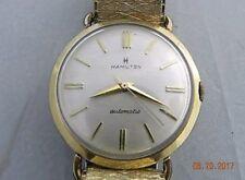 Hamilton Automatic 10 karat Gold Filled Vintage Watch